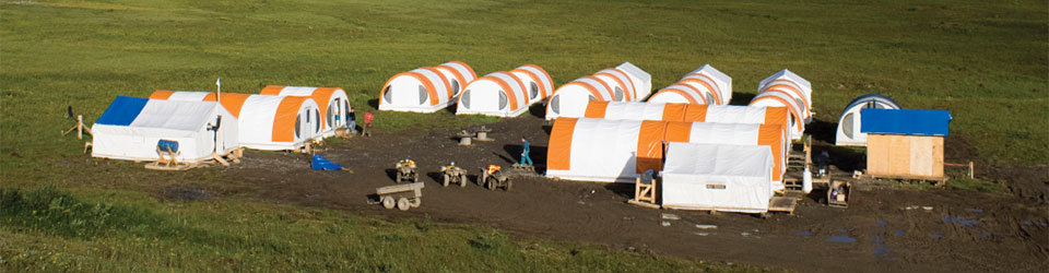 Site Excavation Tents